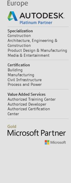 GRAITEC - Europe - Autodesk Platinum Partner - Microsoft Gold Application Development Partner